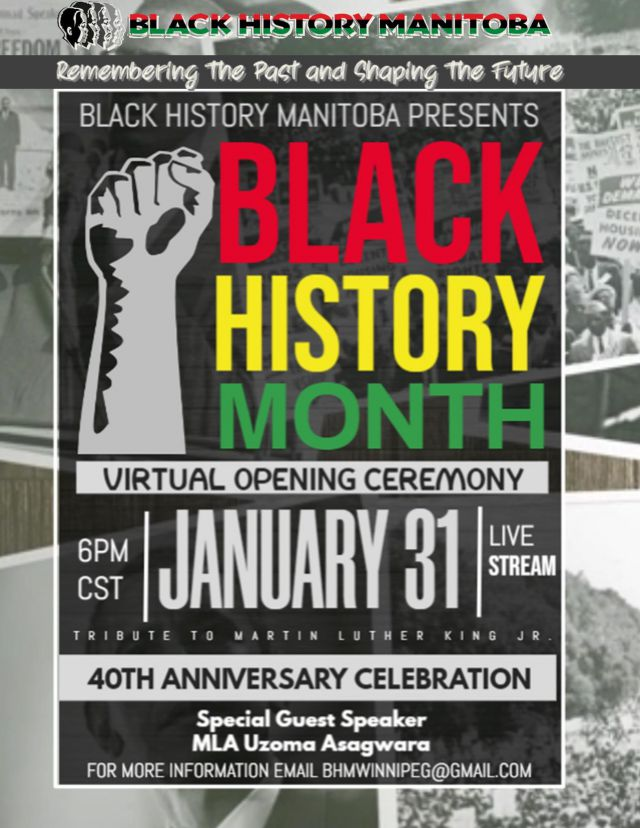 Black History Month Virtual Opening Ceremony