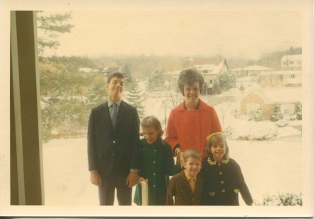 Snow on Easter Sunday, 1970