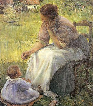 Meditation, 1902
