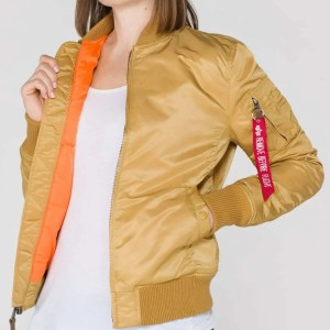 ALPHA MA-1 VF 59 WMN GOLD (Women)