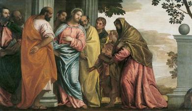Veronese-Le-Christ-rencontrant-la-femme-et-les-fils-de-zebedee_-_Grenoble