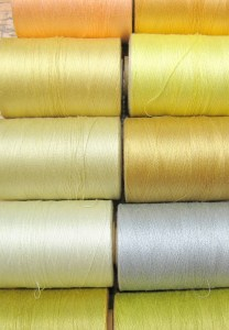 Sewing Thread Spools for Weaving