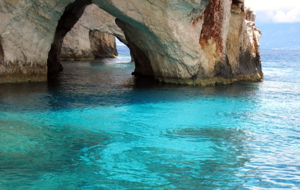 Blue Caves at Zakynthos 4