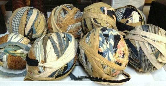 Antique Rag Balls - Peggy Osterkamp Collection