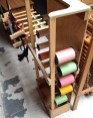 Silk Threads on Creel