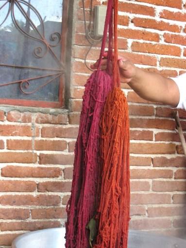 7.15 dyed yarns