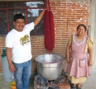 7.16 couple who do natural dyes. Note her face