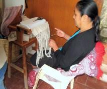 8.12 woman working on fringe