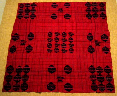 Checked weaving