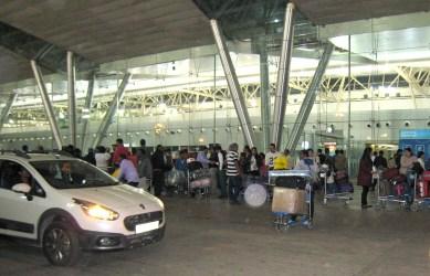 01.3 Ahmedabad, India airport 4 am