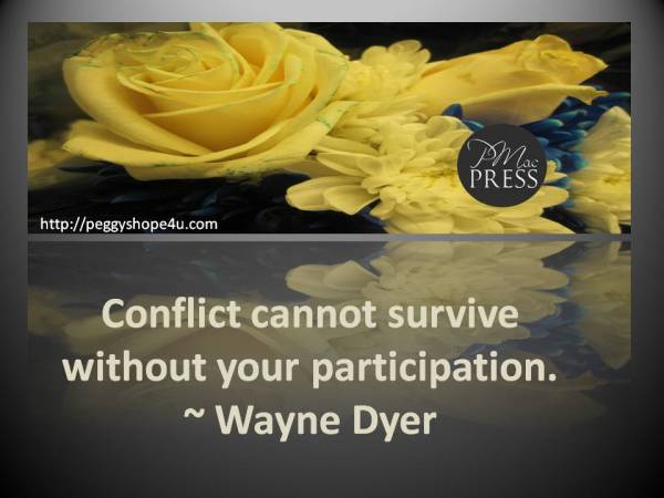Change Your Attitude to Avoid Conflicts