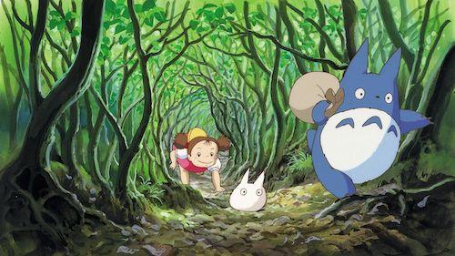 Mi Vecino Totoro de Estudios Ghibli