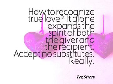 Recognize True Love