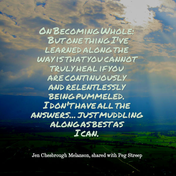 On becoming whole