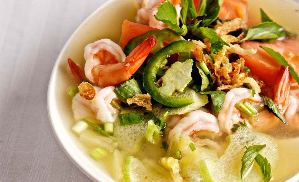 Shrimp and Sour soup