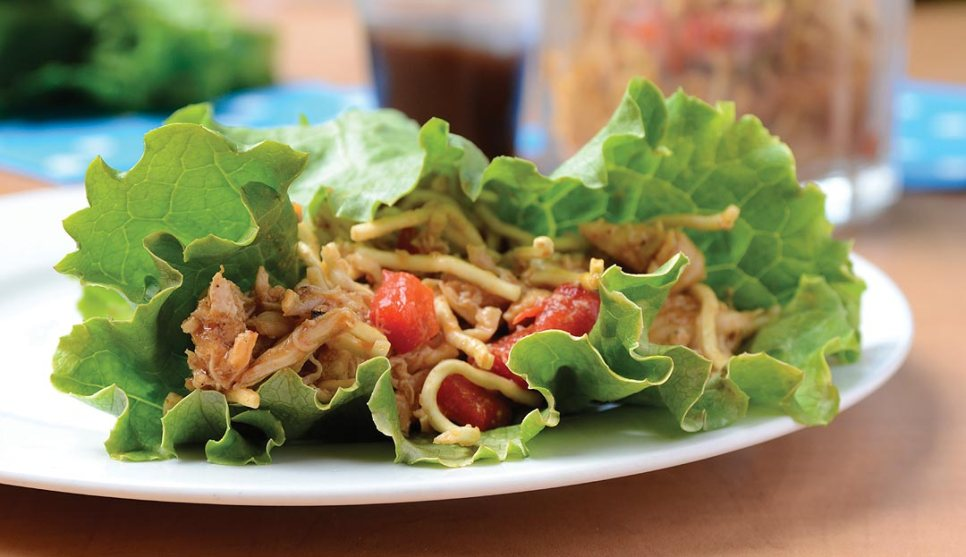 Hong Kong Lettuce Wrap by Chef/owner Lawrence Wararuk of Luxalune Gastropub