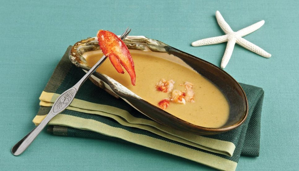 Lobster Bisque by Chef/owner Arnaldo Carreira of Orlando's Seafood Grill