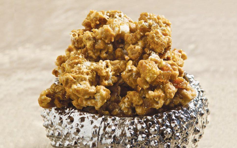 Gilded Caramel Corn