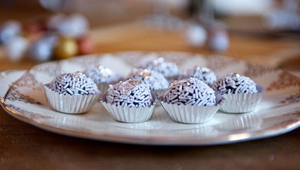 Rum Balls by Pastry Chef/Owner Nina Notaro, Cake Studio