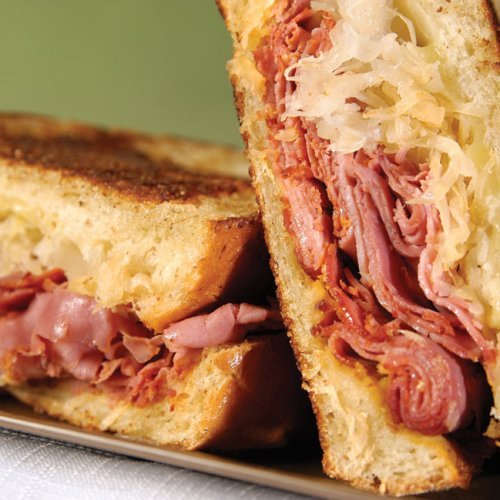 Hot Mustard Reuben Sandwich by Marla Bernstein of Bernstein's Deli