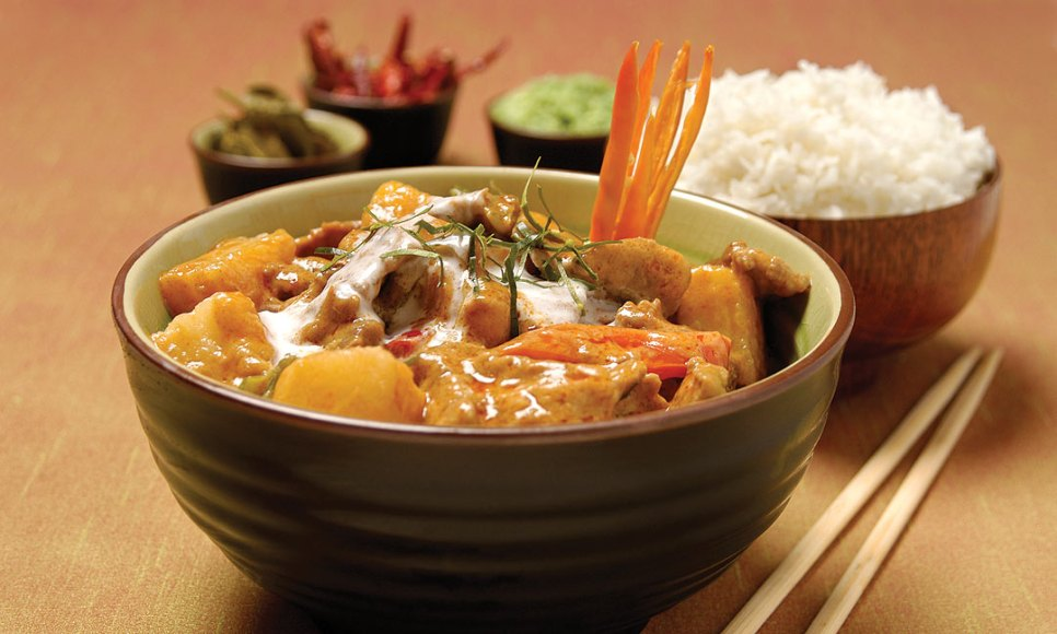 Panaeng Beef Curry by Chef Samloy Kongmanisvong of Siam Thai