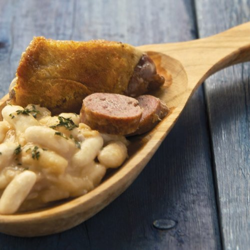 Cassoulet by Chef Tristan Foucault of Peasant Cookery