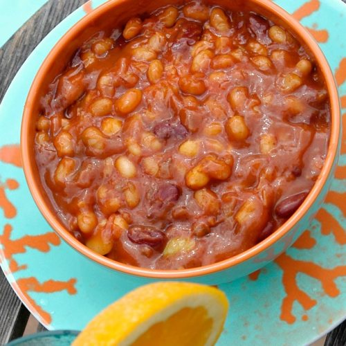 Pit Beans by Chef Roger LeBleu of Lovey's BBQ and Smokehouse