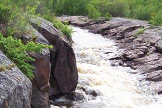 Whitemouth Falls, Whiteshell Provincial Park