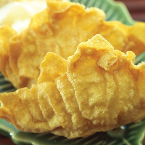 Fried Seafood Dumpling by Chef Ming Chen and Chef Geoffrey Young of Kum Koon Garden