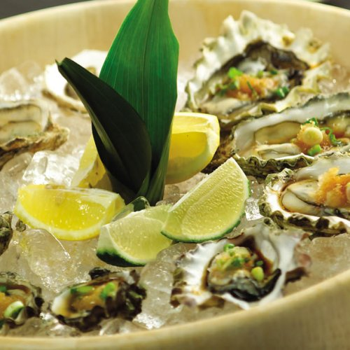 Summer Oysters by Chef Cho Venevongsa, Wasabi On Broadway