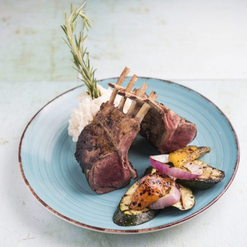 Rack of lamb - Bailey's