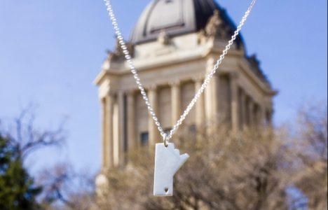 Manitoba Necklace MB