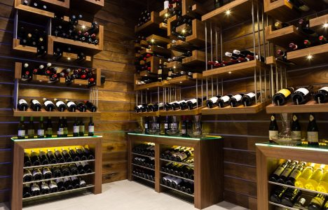 Blue Marble - Wine Room