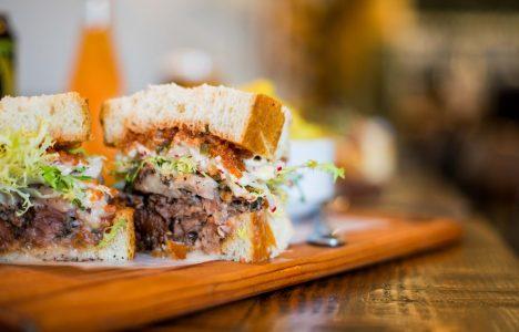 King+Bann Meat Sandwich