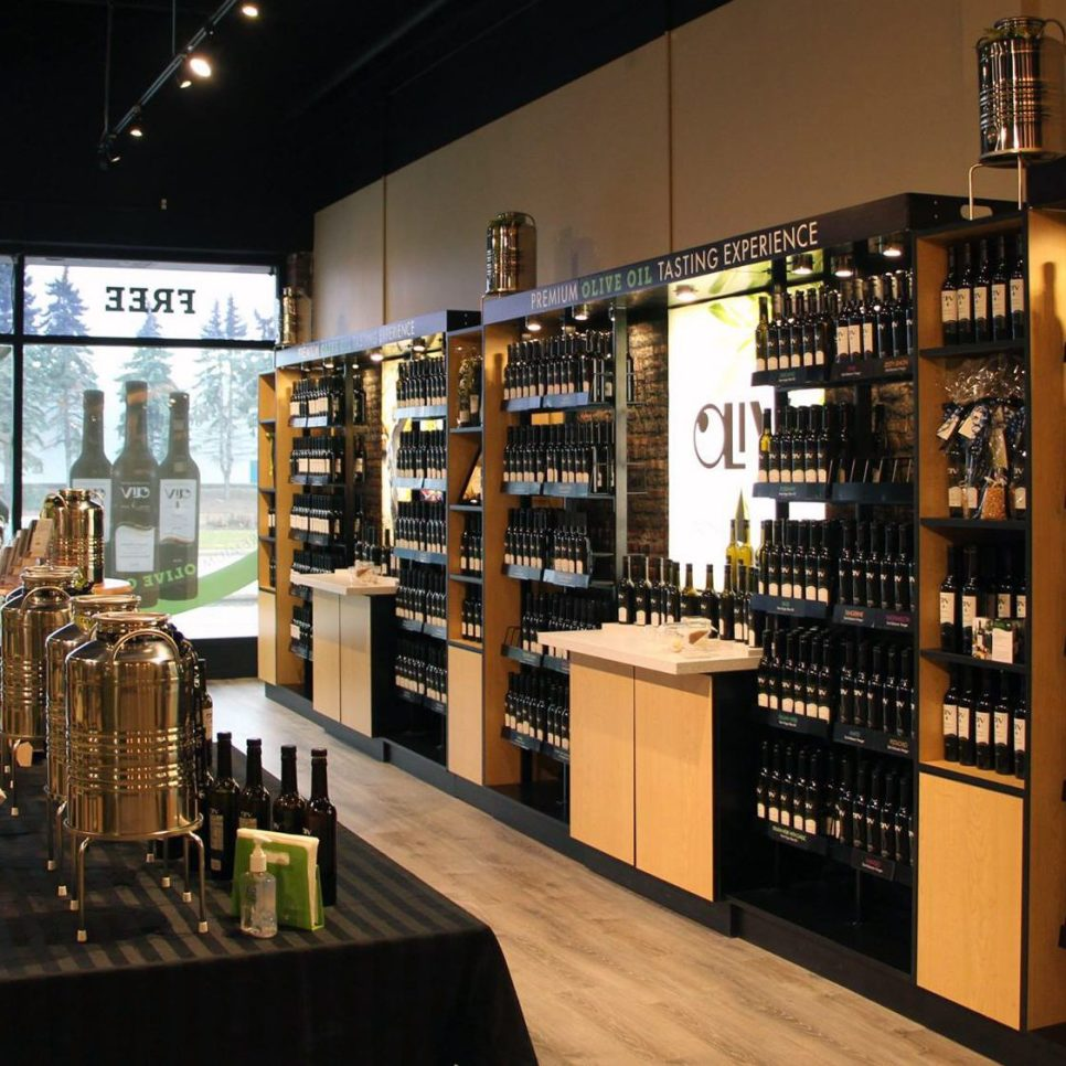 Oliv Tasting Room Winnipeg