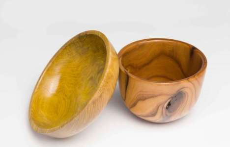 Steve Hanchuk wood turned bowls