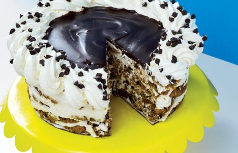Chocolate Chip Cookie Torte by Cocoabeans Bakeshop