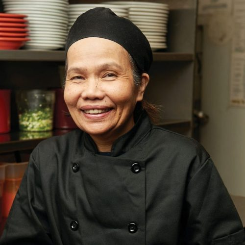 Chef Sumruoy Poomrat of Siam Thai