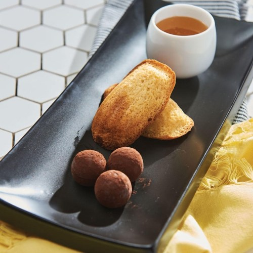 Honey chocolate truffles The VG Restaurant