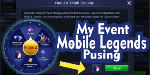 My Event Mobile Legends Pusing