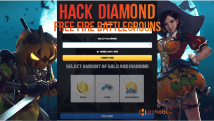 Slogame Free Fire Hack Diamond & Gold