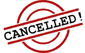 Getting Started League cancelled for Thurs. evening