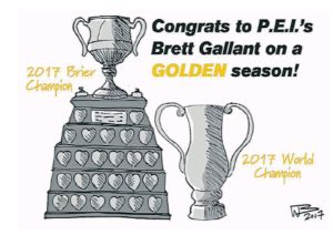 More details on Sat. Celebration Gala for Brett Gallant. Lounge open to public at 10 pm