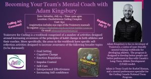 Trainwave workshop with Adam Kingsbury: Becoming your team's mental coach