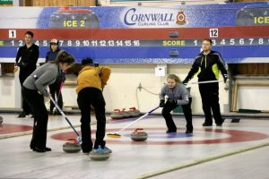 Curling, free curling school, new member reg. starts Oct. 16 at Cornwall Curling Club