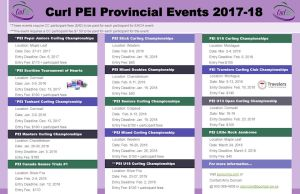 Curl PEI Provincial Events Sched. 2017-2018