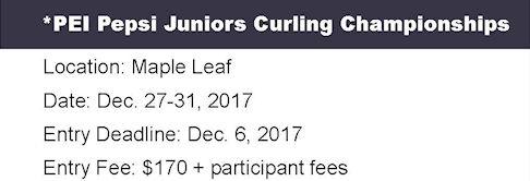 Entry Deadline: Pepsi Juniors @ Maple Leaf Curling Club | O'Leary | Prince Edward Island | Canada