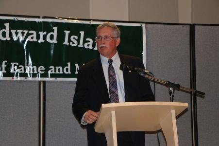Gary O'Sullivan, Pres. Cornwall Curling