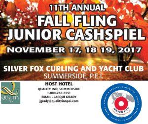 Ch'ship round set at Silver Fox Fall Fling Junior Cashspiel