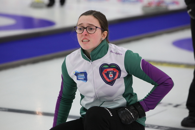 Undefeated teams, including PEI's Lenentine rink, take over the top at Canadian Juniors (Curling Canada)
